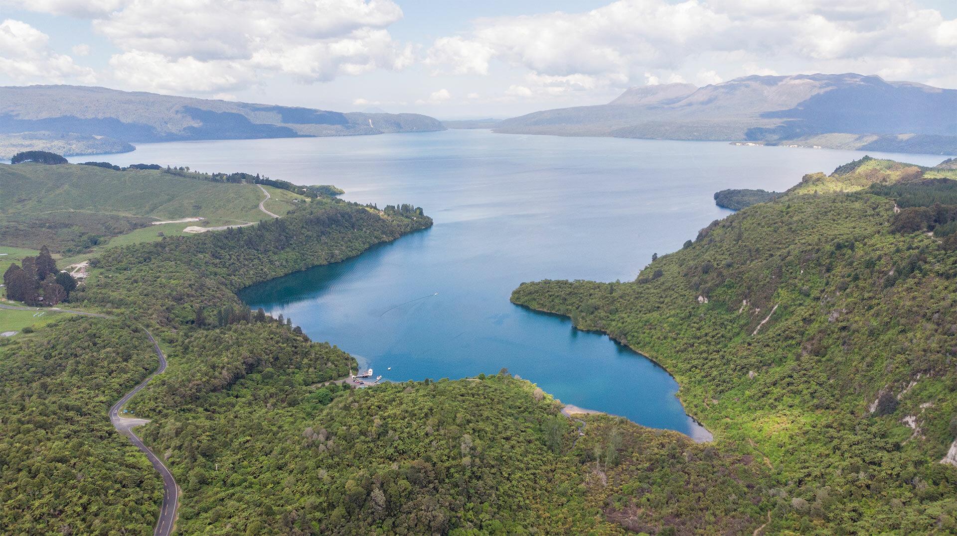 Land-use change for Lake Rotorua catchment