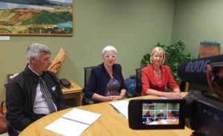 Flood risk reduction plan underway