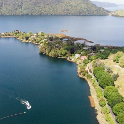 Lake Ōkāreka update